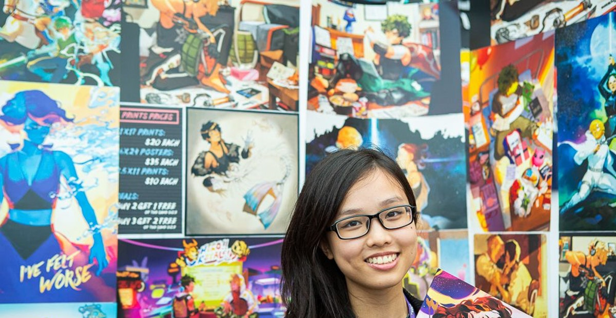 Sell and show off your work at the TwitchCon Artist Alley