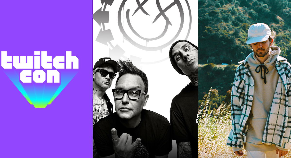 Your full TwitchCon Party lineup: blink-182, Madeon, and more