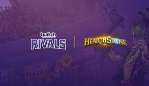 Twitch Rivals: Hearthstone Arena Team Draft Challenge