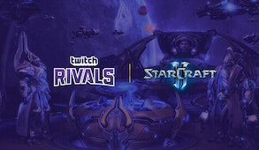 Twitch Rivals: StarCraft 2 Streamer Showdown