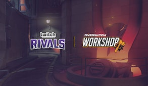 Twitch Rivals: Overwatch Workshop Showdown